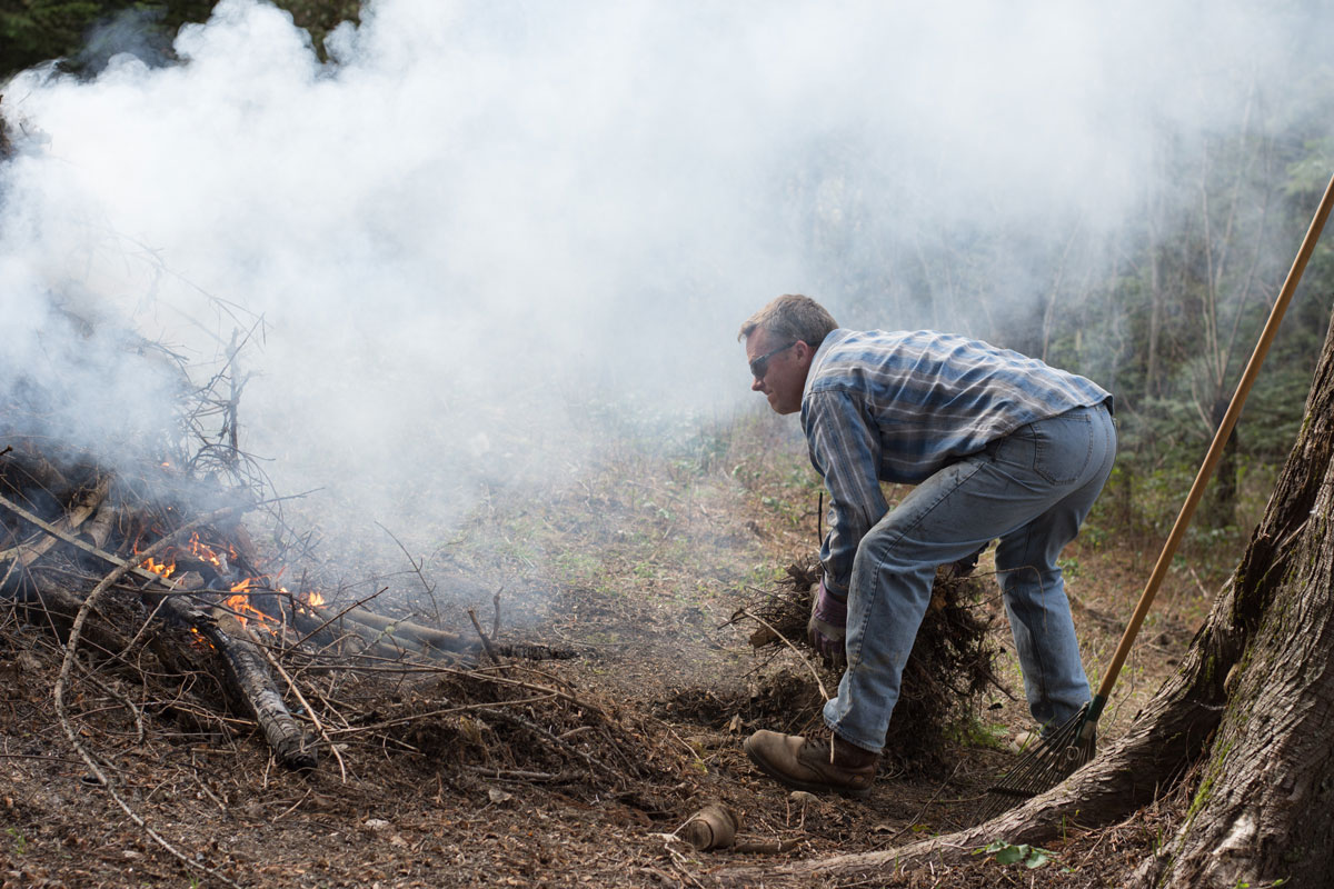 Pile Burning a health risk